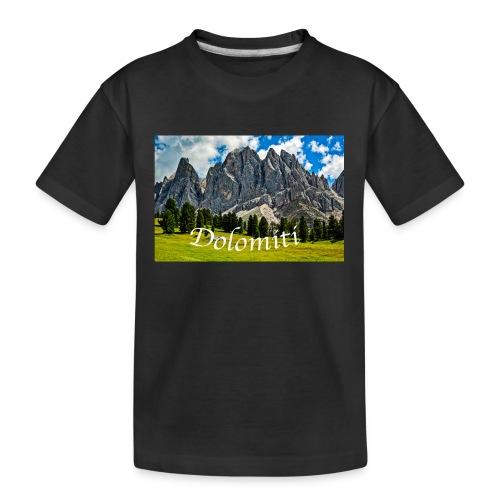 Naturpark Puez Geisler - Teenager Premium Bio T-Shirt