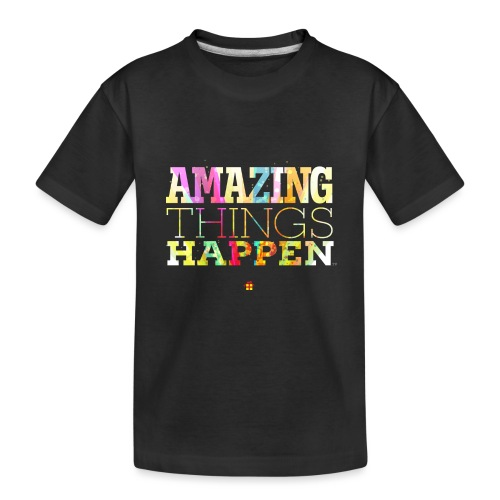 Amazing Things Happen - Simplified - Teenager Premium Organic T-Shirt