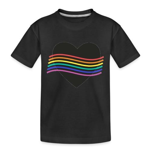 PROUD HEART - Teenager Premium Bio T-Shirt
