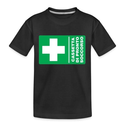 cartello png - Maglietta ecologica premium per ragazzi
