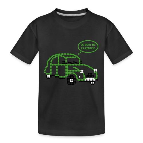 eendje.png - Teenager premium biologisch T-shirt