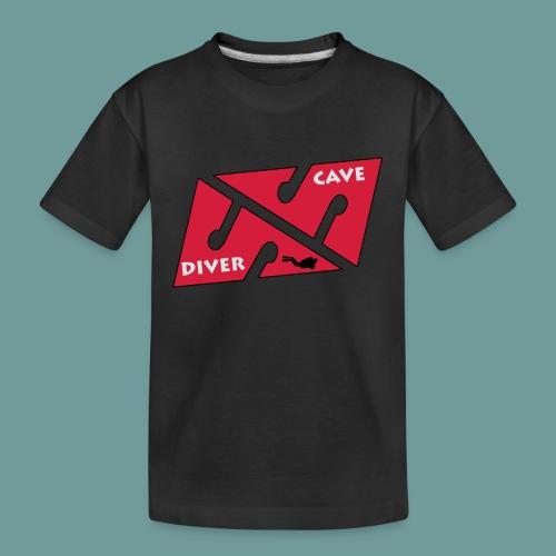cave_diver_01 - T-shirt bio Premium Ado