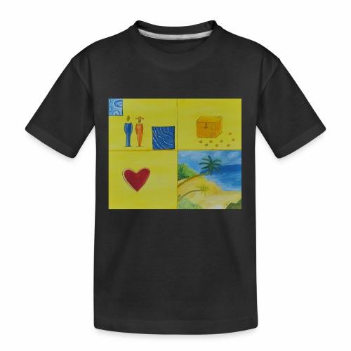 Viererwunsch - Teenager Premium Bio T-Shirt