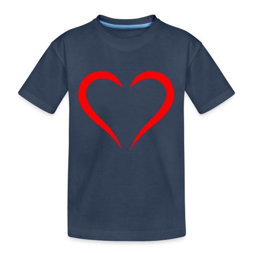 open heart - Teenager Premium Bio T-Shirt