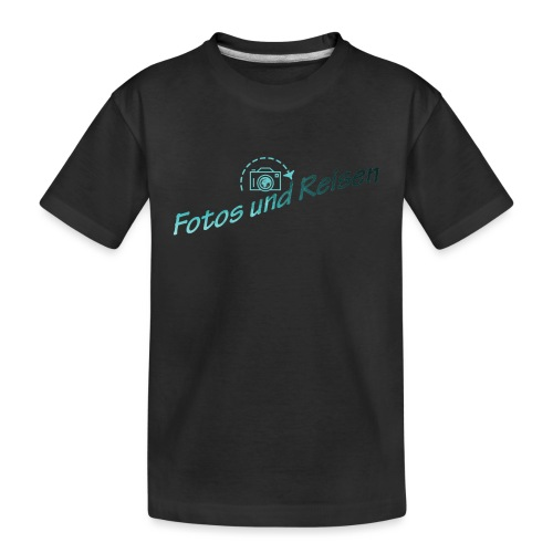 Fotos und Reisen - Teenager Premium Bio T-Shirt