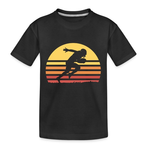 Football Sunset - Teenager Premium Bio T-Shirt