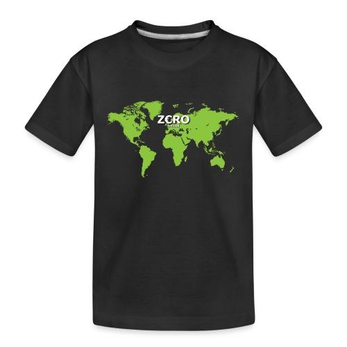 World Z€RO official - Teenager Premium Organic T-Shirt