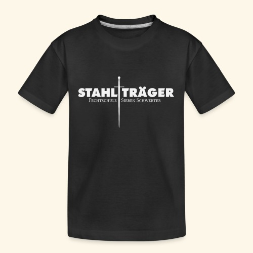 Stahlträger - Teenager Premium Bio T-Shirt