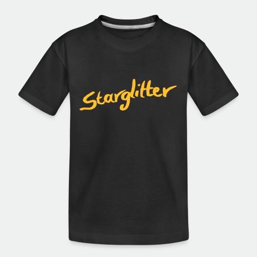 Starglitter - Lettering - Teenager Premium Organic T-Shirt