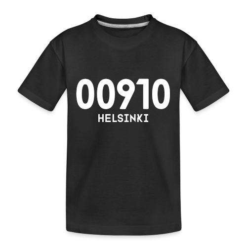 00910 HELSINKI - Teinien premium luomu-t-paita
