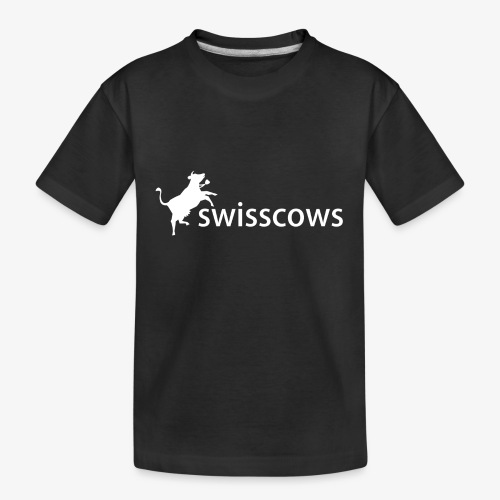 Swisscows - Logo - Teenager Premium Bio T-Shirt