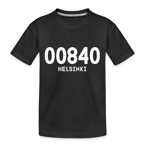 00840 HELSINKI - Teinien premium luomu-t-paita