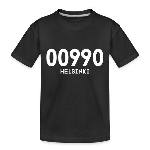 00990 HELSINKI - Teinien premium luomu-t-paita