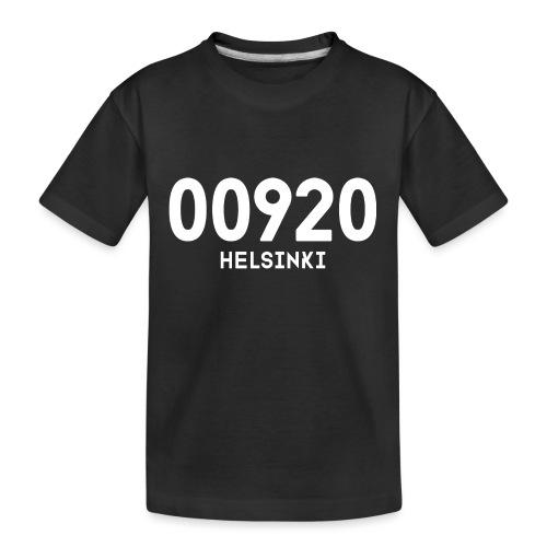 00920 HELSINKI - Teinien premium luomu-t-paita
