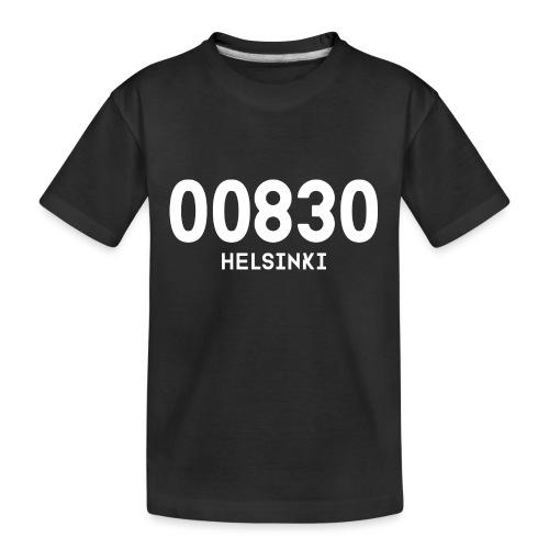 00830 HELSINKI - Teinien premium luomu-t-paita