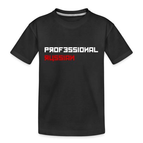 Professional Russian Blue - Teenager premium biologisch T-shirt