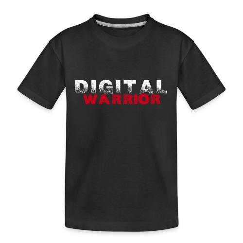 DIGITAl WARRIOR II - Ekologiczna koszulka młodzieżowa Premium