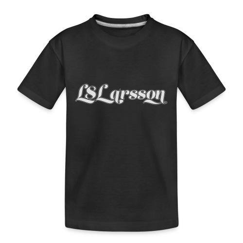 L8Larsson-logo - Ekologisk premium-T-shirt tonåring
