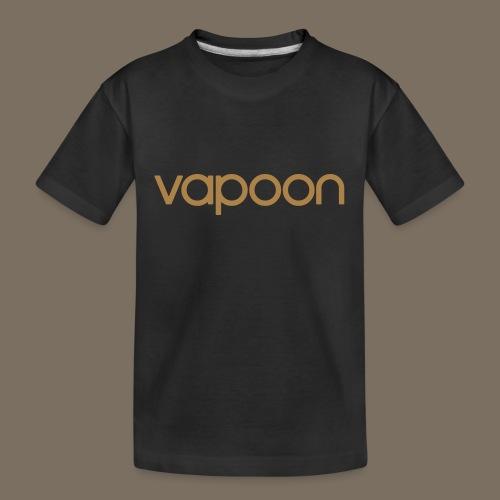 Vapoon Logo simpel 01 - Teenager Premium Bio T-Shirt