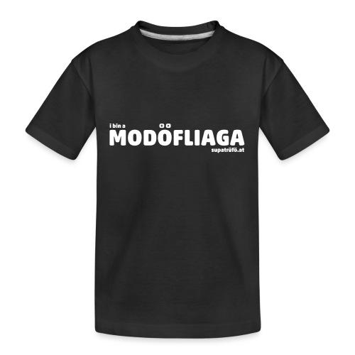 supatrüfö modöfliaga - Teenager Premium Bio T-Shirt