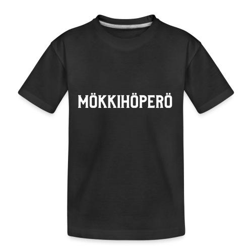 mokkihopero - Teinien premium luomu-t-paita
