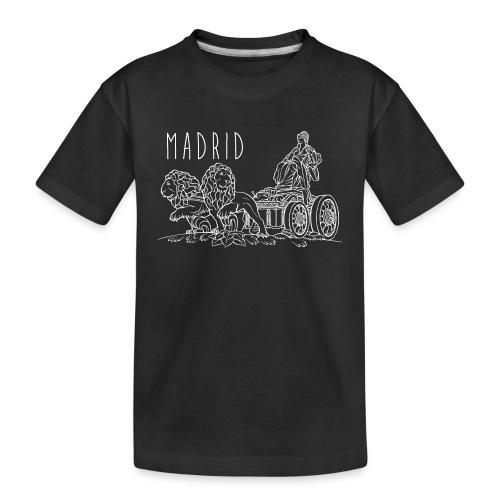 CIBELES BLANCO - Camiseta orgánica premium adolescente
