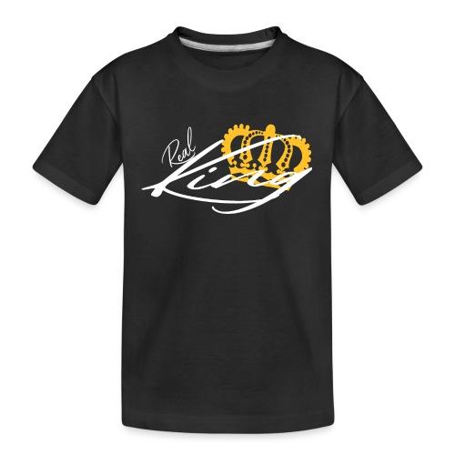 Real King König - Teenager Premium Bio T-Shirt
