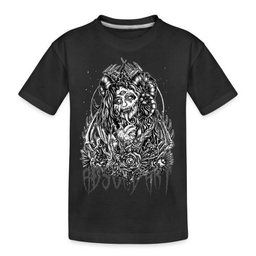 Murderous Beauty, Black'n White, Absurd Art - Teenager Premium Bio T-Shirt