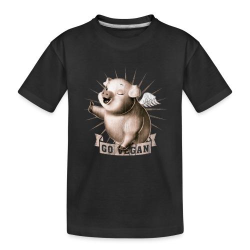 Go Vegan - T-shirt bio Premium Ado