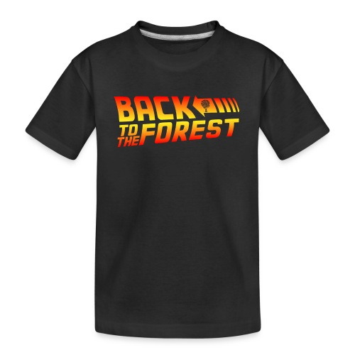 Back To The Forest - Teenager Premium Organic T-Shirt