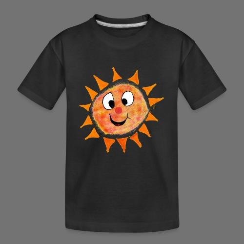 Sonne - Teenager Premium Bio T-Shirt