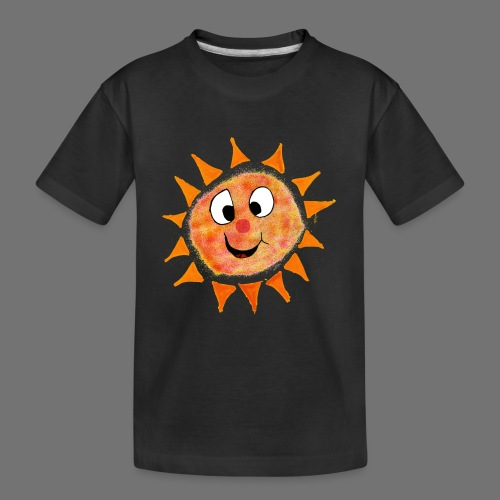 Sun - Teenager Premium Organic T-Shirt