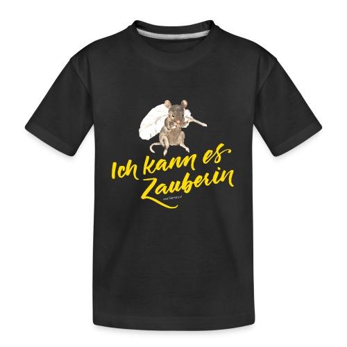 Ich kann es ZAUBERIN - Teenager Premium Bio T-Shirt