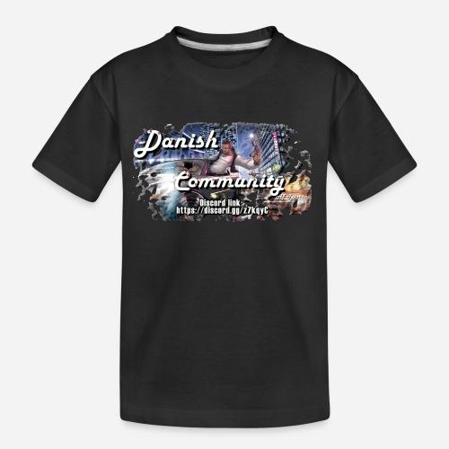 Dansih community - fivem2 - Teenager premium T-shirt økologisk
