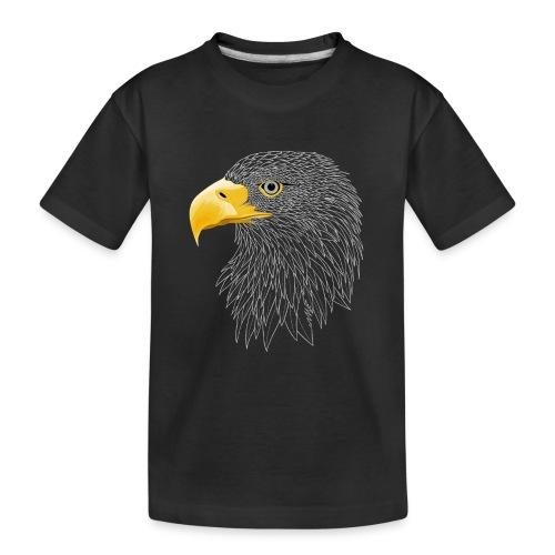 Europese Zeearend - Teenager premium biologisch T-shirt