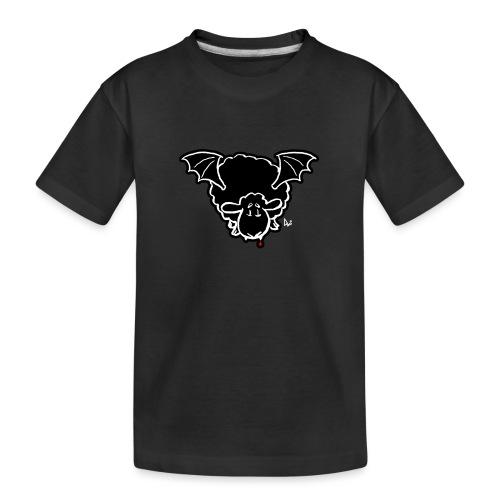 Vampire Sheep (white) - Teenager Premium Bio T-Shirt