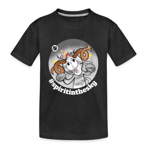 Astrokatze Widder - Teenager Premium Bio T-Shirt