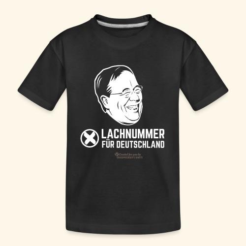 Lachnummer für Deutschland - Teenager Premium Bio T-Shirt