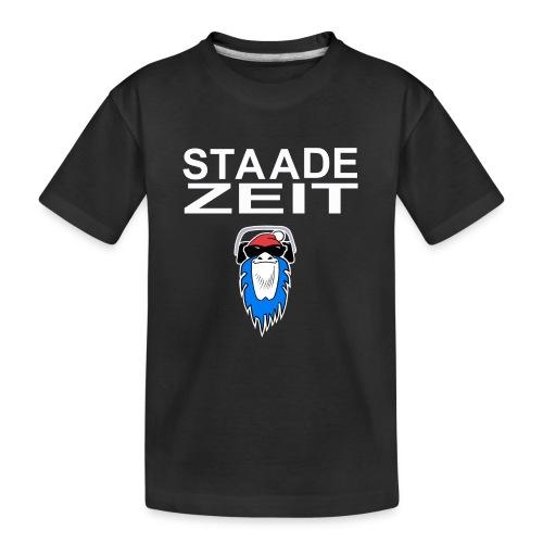 Bavarian Monkey Staade Zeit - Teenager Premium Bio T-Shirt