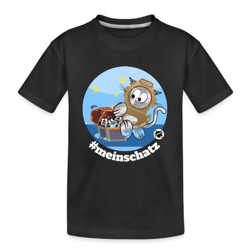 Astrokatze Wassermann - Teenager Premium Bio T-Shirt
