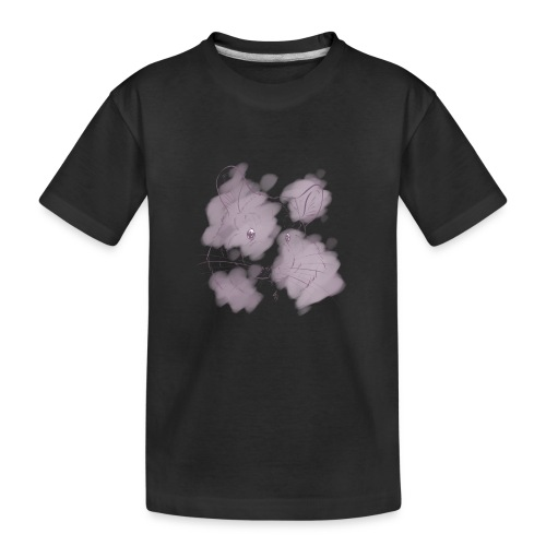 Violet splash chinchilla 2 - Teinien premium luomu-t-paita