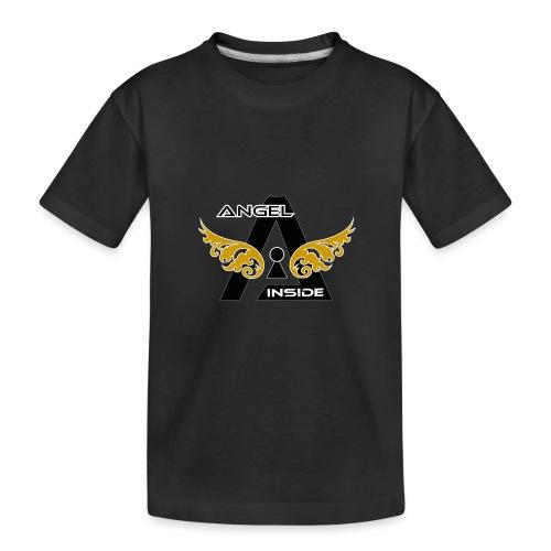 ANGEL INSIDE2-01 - Maglietta ecologica premium per ragazzi
