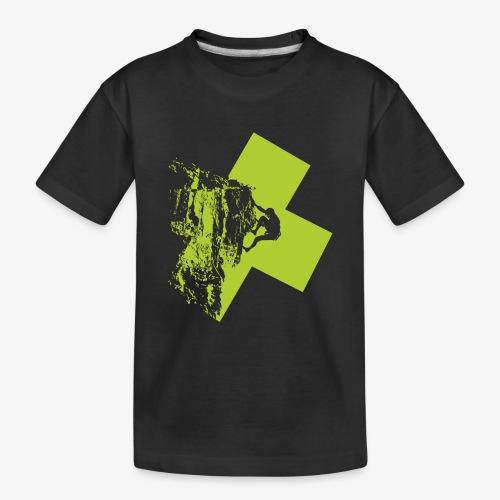Climbing - Teenager Premium Organic T-Shirt