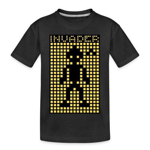 Invader (the greys) - Teenager Premium Organic T-Shirt
