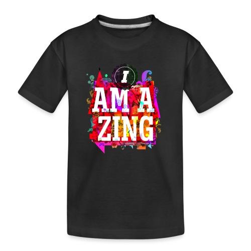I am Amazing - Teenager Premium Organic T-Shirt