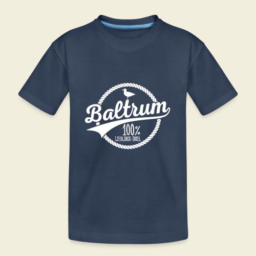 Lieblingsinsel Baltrum - Teenager Premium Bio T-Shirt