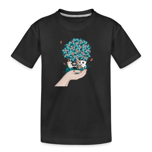Zukunft - Save the Planet - Teenager Premium Bio T-Shirt