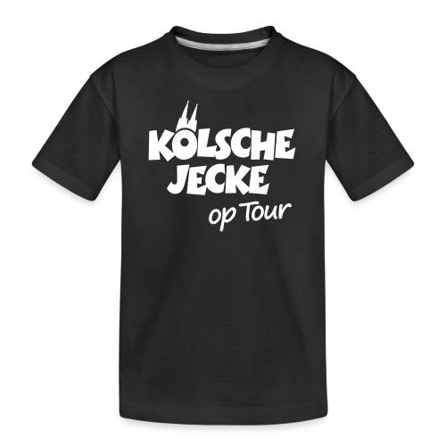 Kölsche Jecke Kölner Dom op Tour Köln Design - Teenager Premium Bio T-Shirt