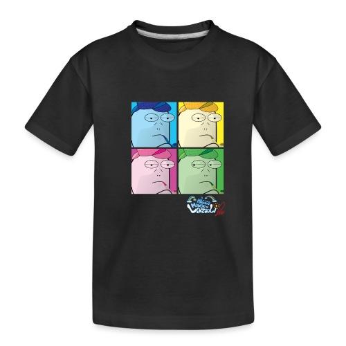 Commissario Warhol - Maglietta ecologica premium per ragazzi