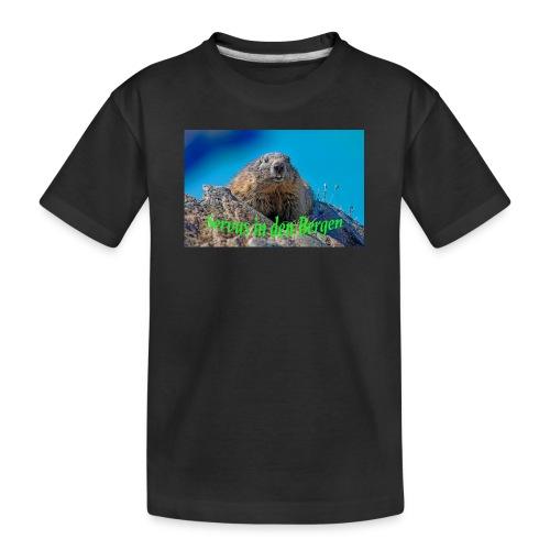 Servus in den Bergen - Teenager Premium Bio T-Shirt